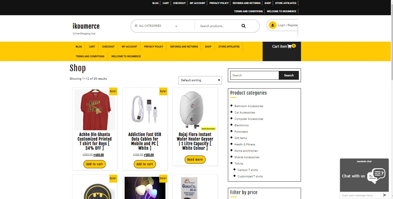 Ecommerce Website Designing in Rohini